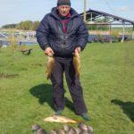 Рыбалка на Зеленёвском пруду. Весна 2019